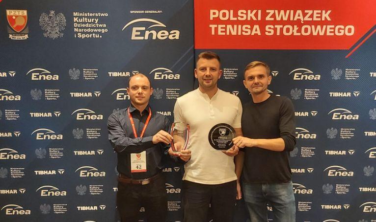 Tenisowe wyróżnienie dla trenera z gminy Iwierzyce