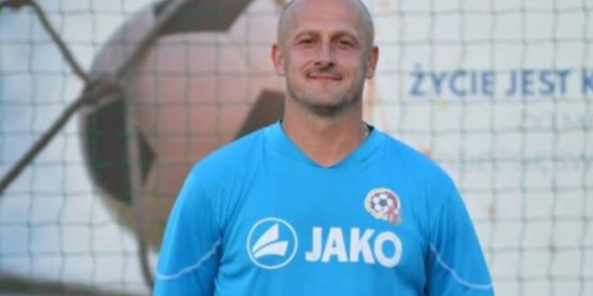 Marcin Grzesiak = trener piłkarzy LZS Mała